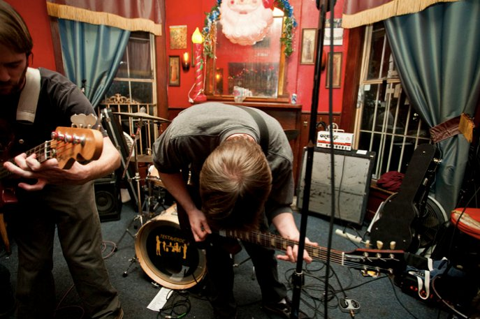 TESTAVERDE at The Circle Bar, New Orleans, 11/27/10.  Photo by Ed Menashy.