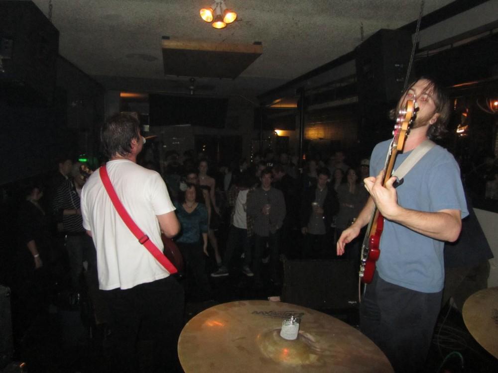Testaverde at Siberia, New Orleans, 1/6/12.  Photo by Jack Porobil.