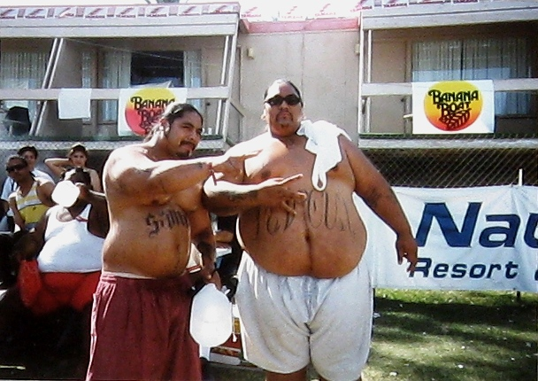 Boo-Yaa Tribe at Lake Havasu. Those guys are even bigger than you think they are.