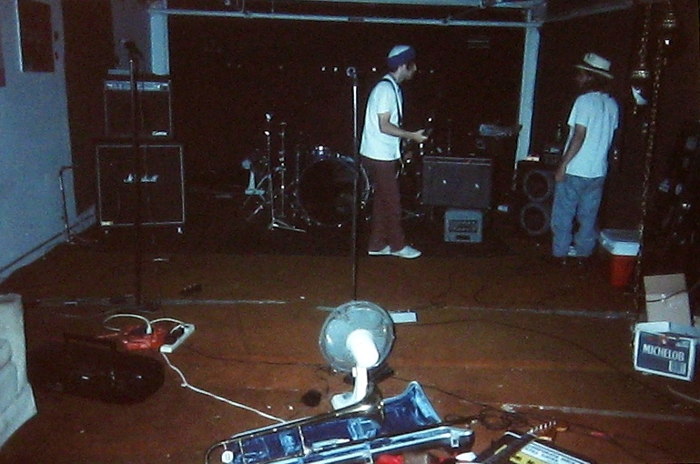 Loungefly rehearsal studio