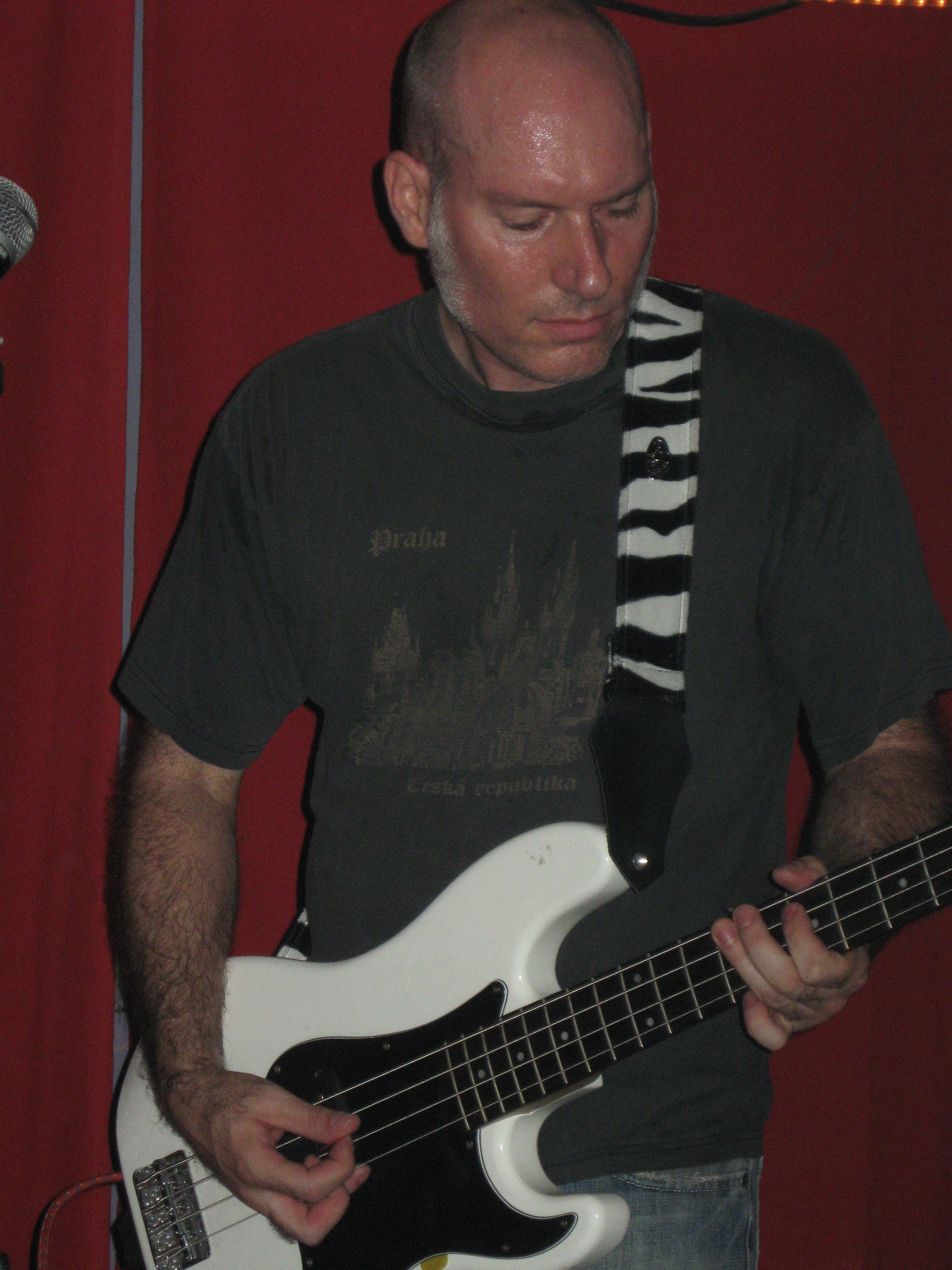Socrates Johnson at Banks St. Bar, New Orleans, May 9, 2009.