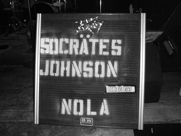 Socrates Johnson at The Hi-Ho Lounge, New Orleans, Jan. 9, 2009.