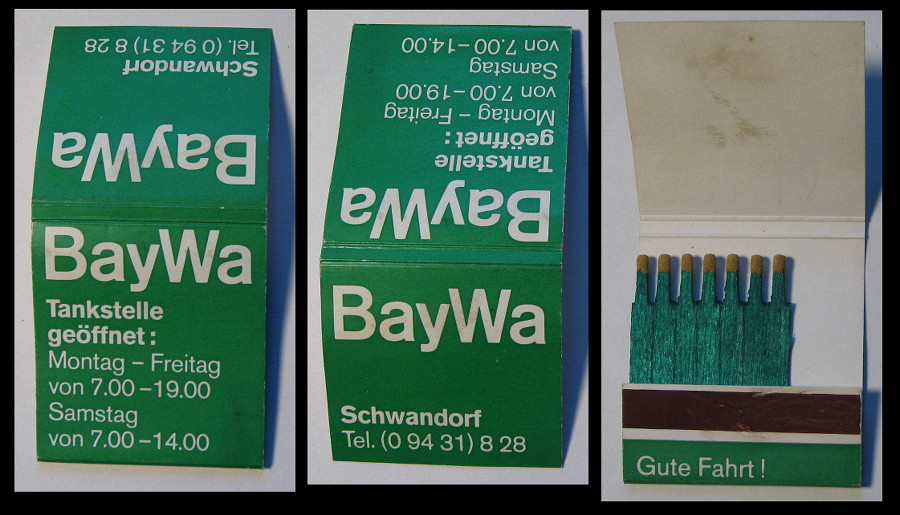 BayWa matchbook