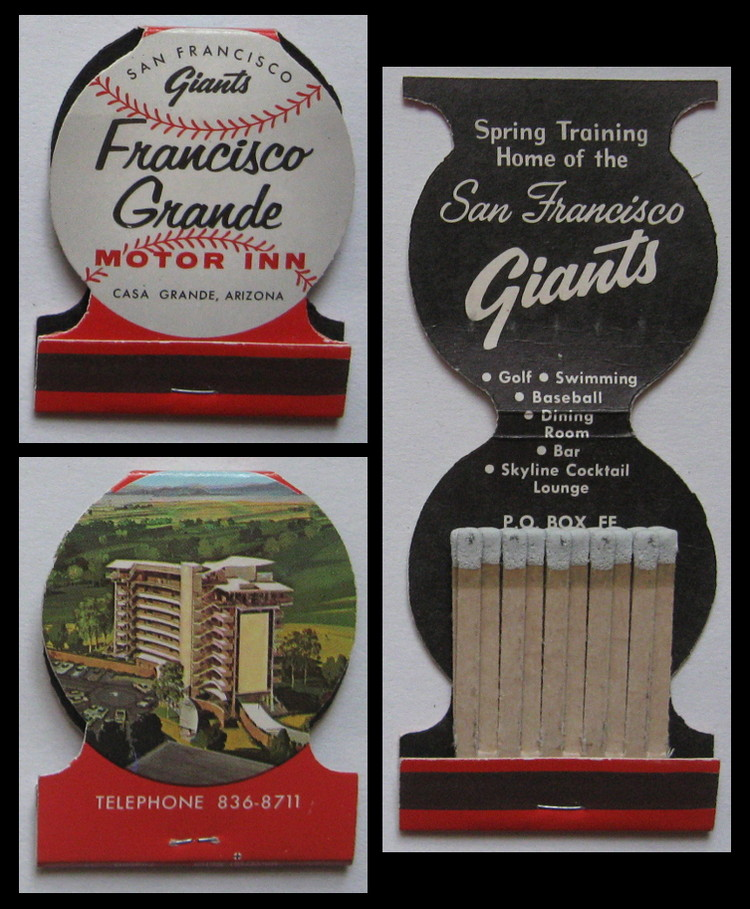 Francisco-Grande matchbook