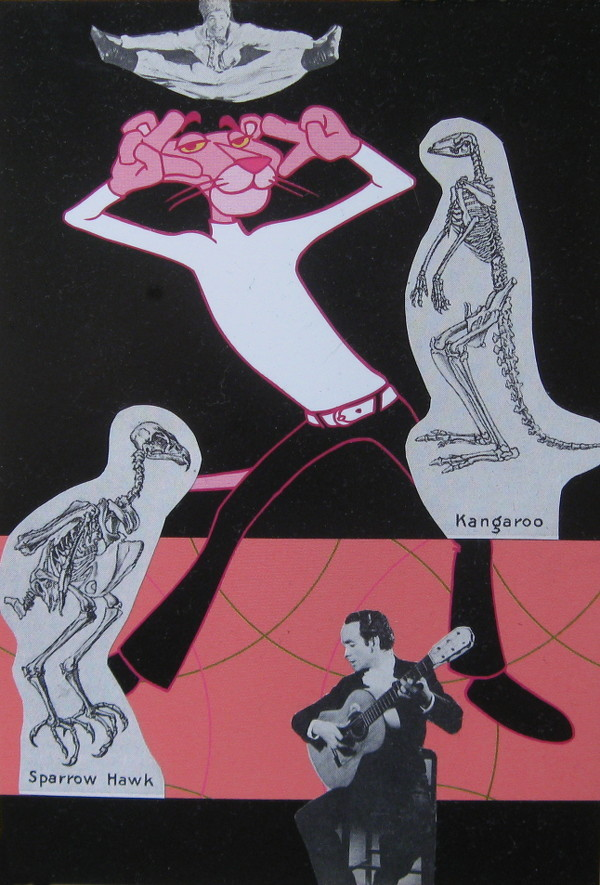 Dance of Death (front) collage by Dan Schubarth