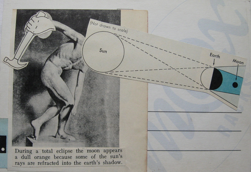 Discobolus (back) collage by Dan Schubarth