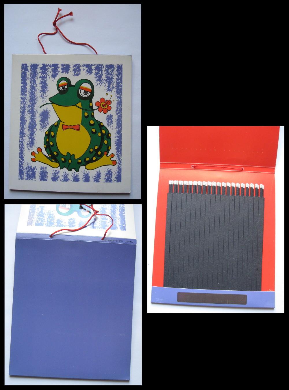 Large-Frog matchbook