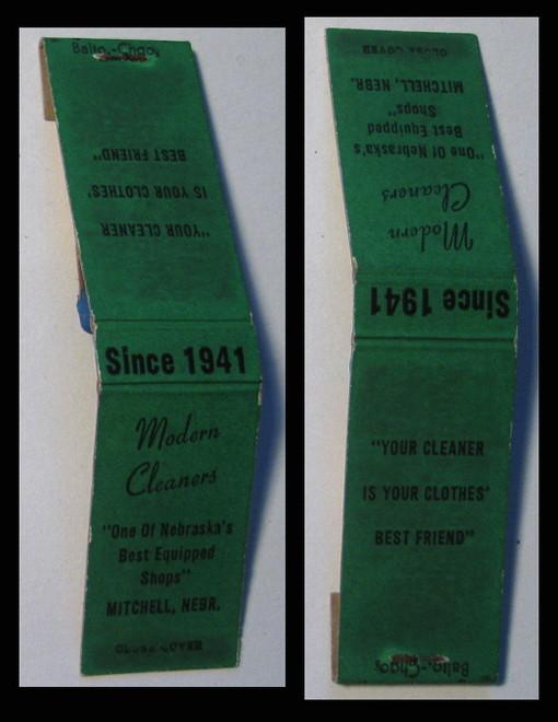 Modern-Cleaners-green matchbook