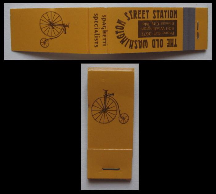 Old-Washington-Street-Station matchbook