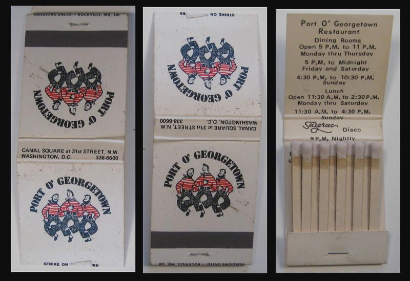 Port-O-Georgetown-restaurant matchbook