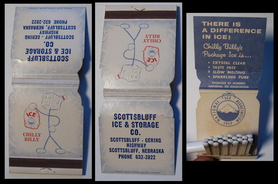 Scottsbluff-Ice matchbook