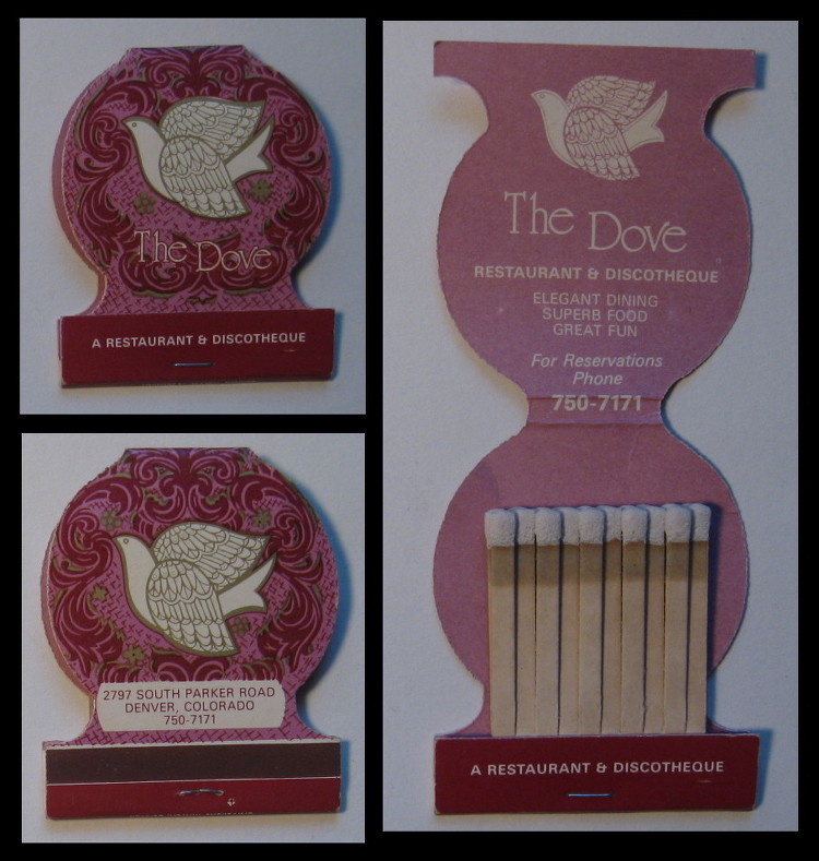 The-Dove matchbook
