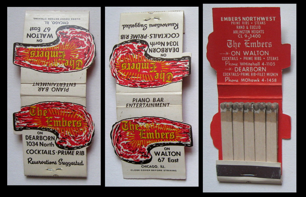 The-Embers matchbook